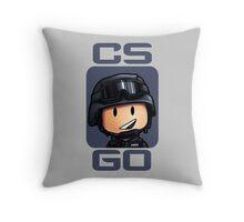 CS:GO Chibi CT Throw Pillow