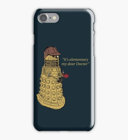 Sherlock Dalek  iPhone Case/Skin