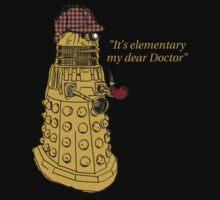 Sherlock Dalek  Kids Tee