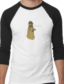 Sherlock Dalek  Men's Baseball ¾ T-Shirt