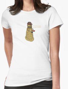 Sherlock Dalek  Womens Fitted T-Shirt