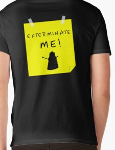 EXTERMINATE ME Mens V-Neck T-Shirt