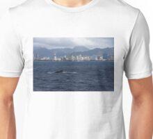 Whale Watching in Honolulu, Hawaii Unisex T-Shirt