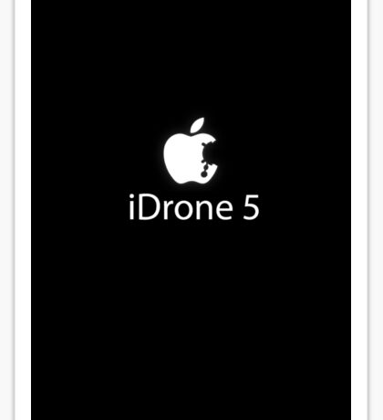 New iDrone 5 Sticker