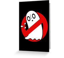 Ghostblookers Greeting Card