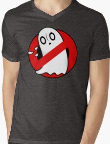 Ghostblookers Mens V-Neck T-Shirt