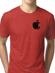 Dalek Apple White  Tri-blend T-Shirt