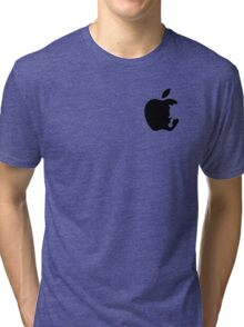 Dalek Apple White  Tri-blend T-Shirt
