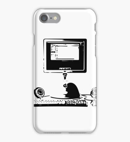 iMac G4 Black Sketch iPhone Case/Skin