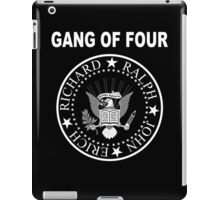 Gang of Four • Ramones Style Design for Programmers iPad Case/Skin