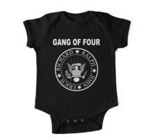 Gang of Four • Ramones Style Design for Programmers One Piece - Short Sleeve