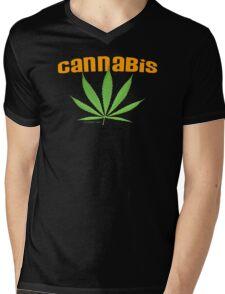 cannabis Mens V-Neck T-Shirt