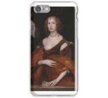 Sir Anthony Van Dyck ,Portrait of Mary Hill, Lady Killigrew iPhone Case/Skin