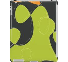 Retro Blobs Abstract iPad Case/Skin