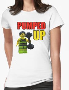 Pumped up! Womens Fitted T-Shirt