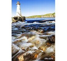 Potanipo Lake Lighthouse Photographic Print