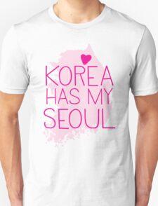 KOREA has my SEOUL Unisex T-Shirt