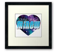 Completely love MINEW Framed Print