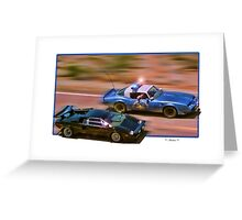 The Cannonball Run Greeting Card