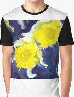 Daffodils - Bright Graphic T-Shirt