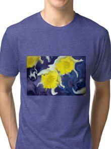 Daffodils - Bright Tri-blend T-Shirt