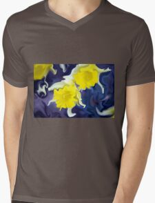 Daffodils - Bright Mens V-Neck T-Shirt