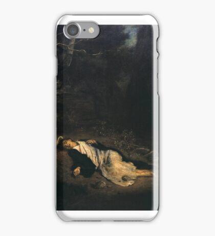Sir John Everett Millais, B , Saint Stephen  iPhone Case/Skin
