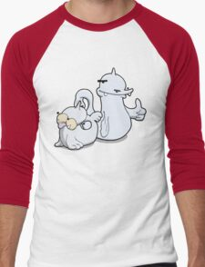 Number 86 and 87 Men's Baseball ¾ T-Shirt