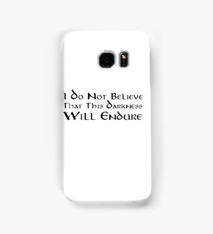 Darkness (Black) Samsung Galaxy Case/Skin