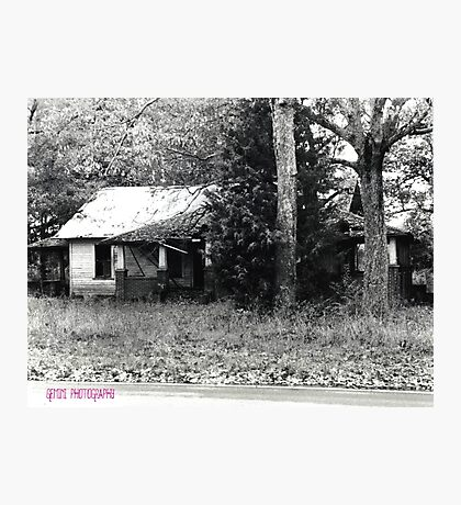 Abandoned House Photographic Print