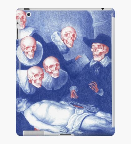 The Anatomy Lesson of Dr. Nicolaes Tulp iPad Case/Skin