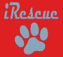 iRescue - animal cruelty, vegan, activist, abuse One Piece - Short Sleeve
