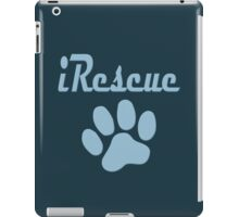 iRescue - animal cruelty, vegan, activist, abuse iPad Case/Skin