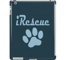 iRescue - animal cruelty, vegan, activist, abuse iPad Case/Skin