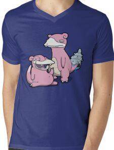Number 79 and 80 Mens V-Neck T-Shirt