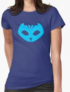 PJ Masks - Catboy Crest Womens Fitted T-Shirt