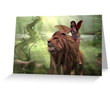 Faery Huntress Greeting Card