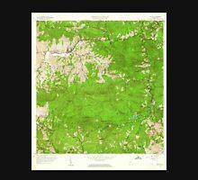 USGS TOPO Map Puerto Rico PR Jayuya 362135 1960 20000 Unisex T-Shirt