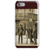 Old West Street Scene iPhone Case/Skin