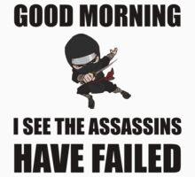 Assassins Failed One Piece - Short Sleeve