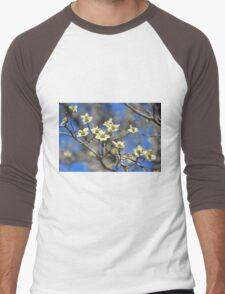 Dogwood In Bloom Men's Baseball ¾ T-Shirt
