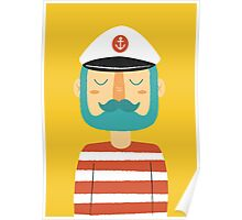 Ahoy Sailor Poster