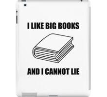 I Like Big Books iPad Case/Skin