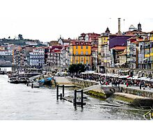 The Porto skyline by the River Douro Photographic Print