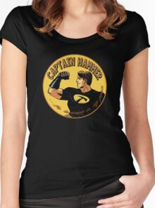 capt hammer Women's Fitted Scoop T-Shirt