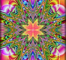 Psychedelic Starburst... by Roz Rayner-Rix