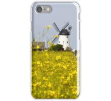 Lytham Windmill In Summer iPhone Case/Skin