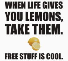 Free Lemons One Piece - Short Sleeve