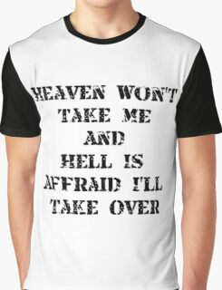 Heaven Hell Graphic T-Shirt