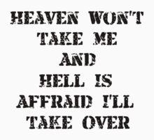 Heaven Hell One Piece - Short Sleeve